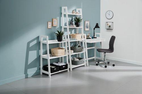 Bürostuhl ABILDHOLT chrom/dunkelgrau