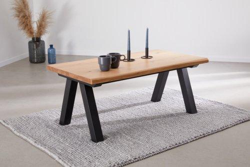 Tavolino NEW YORK 60x110 rovere/nero
