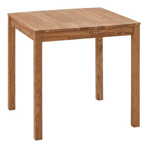 Tavolo da pranzo JEGERUP 80x80 rovere