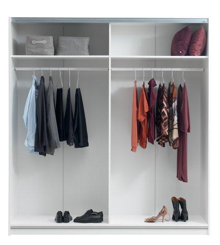 Kleiderschrank SATTRUP 201x219 hochglanz