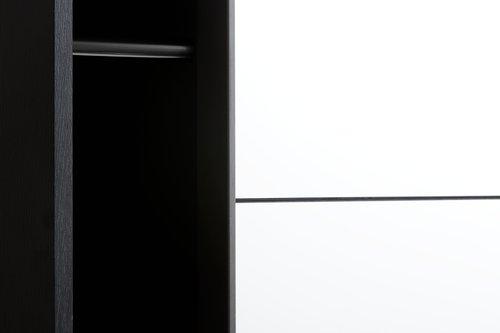 Armadio TARP 151x201 con specchio nero