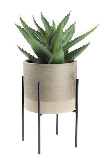 Kunstpflanze STEINAR Ø25xH30cm mit Topf