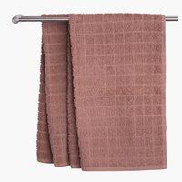 Asciugamano ospite KARBY rosa antico