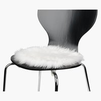 Cuscino sedia TAKS Ø34 bianco sporco