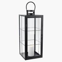 Lanterna VILLADS P20xL20xH50cm nero