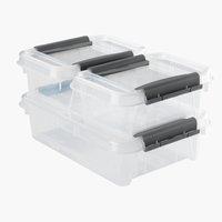 Aufbewahrungsbox PROBOX m/Deckel 3 Stk
