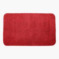 Tappetino bagno UNI DE LUXE 50x80 rosso