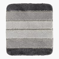 Tappetino bagno STRIPE 45x50 grigio