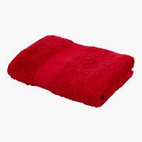 Asciugamano KRONBORG DE LUXE rosso