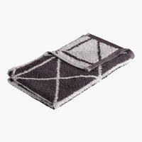 Asciugamano ospite GRAPHIC antracite