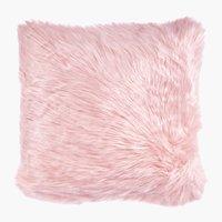 Cuscino TAKS 45x45 pelliccia ecol. rosa