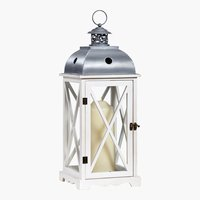 Lanterna BOB P22xL22xH58cm bianca