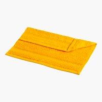 Asciugamano viso KRONBORG DE LUXE giallo