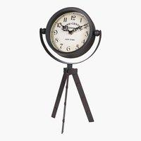 OrologioEMANUEL P17xL15xH37cm nero/bian.