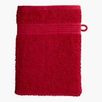 Guanto da bagno CLASSIC LINE rosso