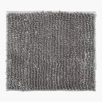Tappetino LUXUS CHENILLE 45x50 grigio c.