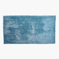 Tappetino b. LUXUS CHENILLE 65x110 blu