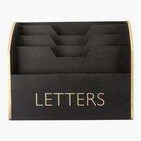 Lavagnetta lettere HALFRED P24xL19xH15cm