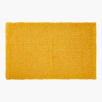 Tappetino bagno NOVO 50x80 giallo