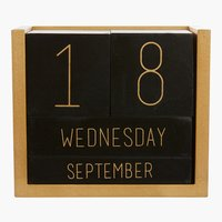 Calendario KLEMENS L10xP6xH12cm