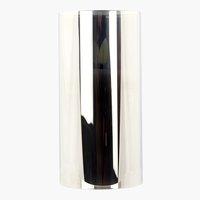 Lanterna KLAUS LED candela grigio chiaro