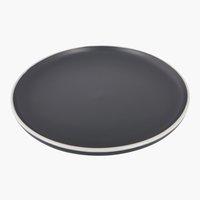 Piatto ELIAS Ø20cm grigio