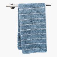 Asciugamano ospite STRIPE smoke blue
