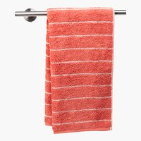 Asciugamano ospite STRIPE rosa antico