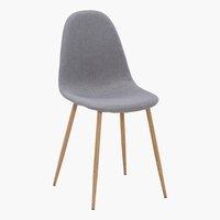 Dining chair TINGLEV oak/grey