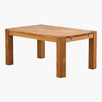 Tavolo da pranzo GOLIATH 100x160 rovere
