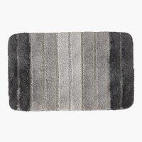 Tappetino bagno STRIPE 50x80 grigio