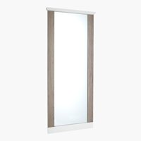 Specchio ORLANDO 65x155 bianco/grigio
